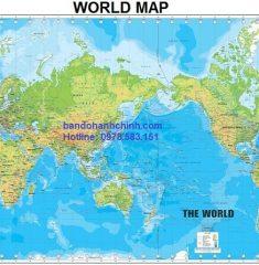 Bản đồ thế giới mẫu 44